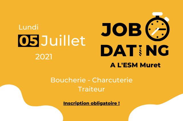 L'ESM Muret organise un Job Dating pour les métiers Boucherie, Charcuterie et Traiteur !