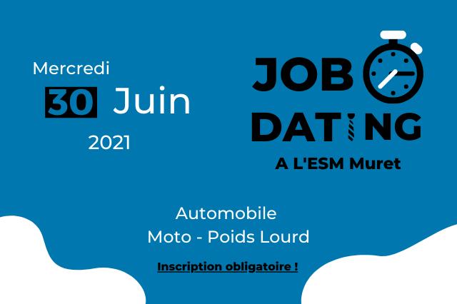 Participez au Job Dating de l'Automobile !
