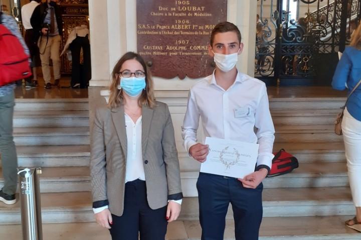 Un apprenti de l'ESM est 3ème meilleur étudiant de France dans la catégorie «Maintenance des véhicules» !