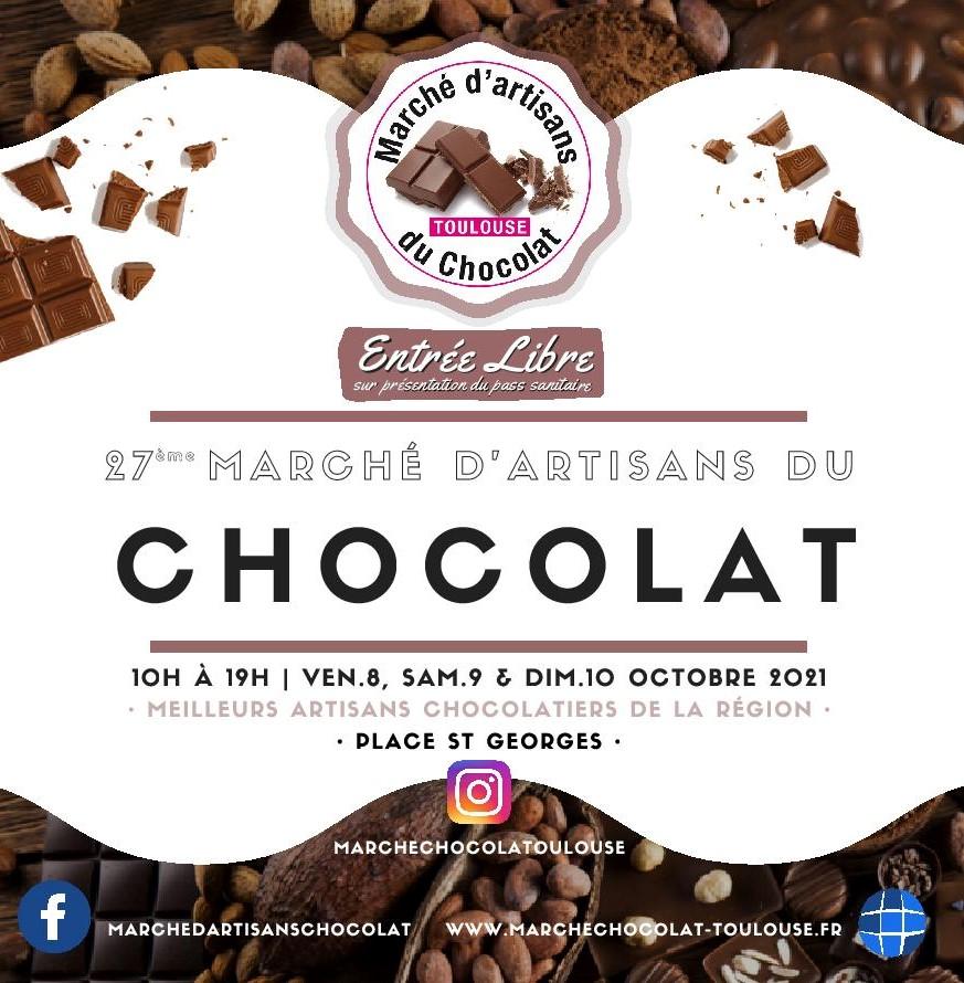 Flyer Marché du chocolat 2021